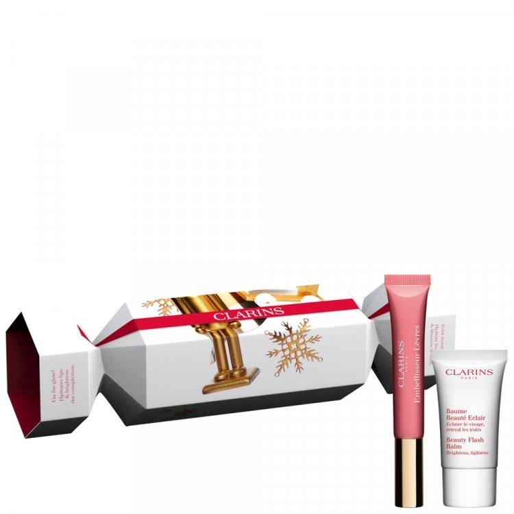 Lip Perfector - 01 rose shimmer+Beauty Flash Balm 15ml