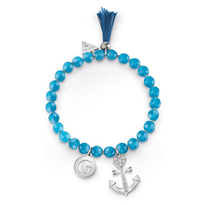 B BLUE BEADS & ANCHOR BR (RH)